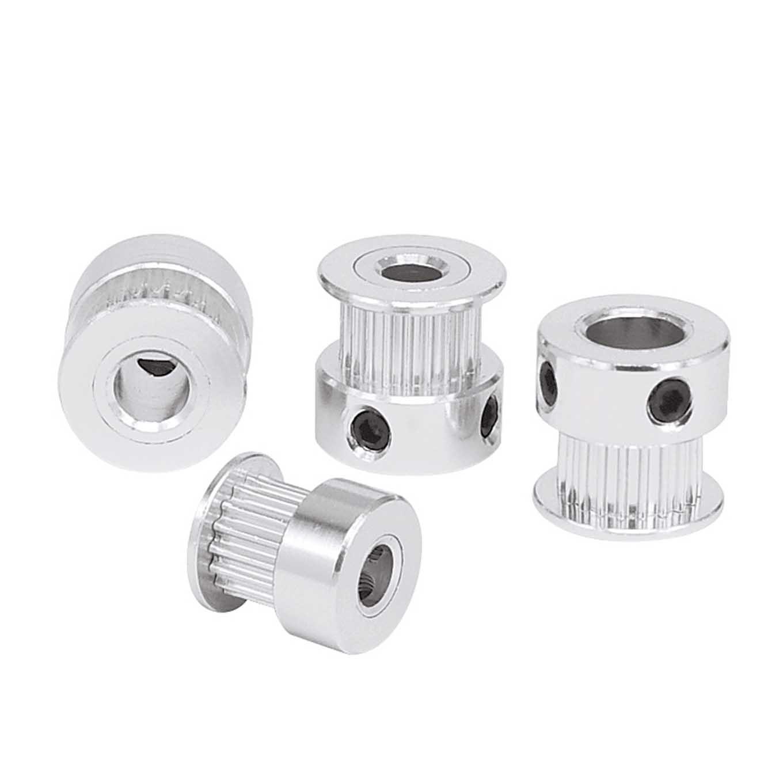 Polea de impresora 3D Aluminio Polea de Correa de Distribución