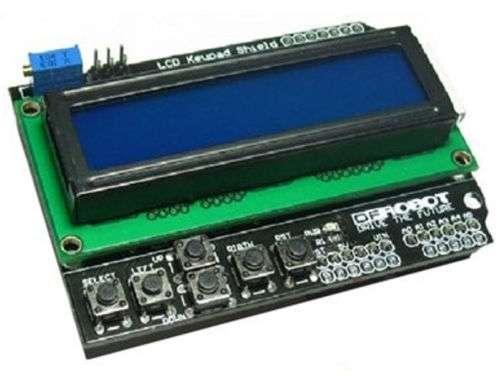 Lcd 1602 16x2 con 6 teclado incluido