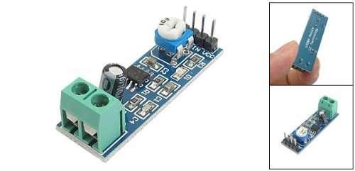 Amplificador de audio 5-12V LM386 resistencia variable 10K