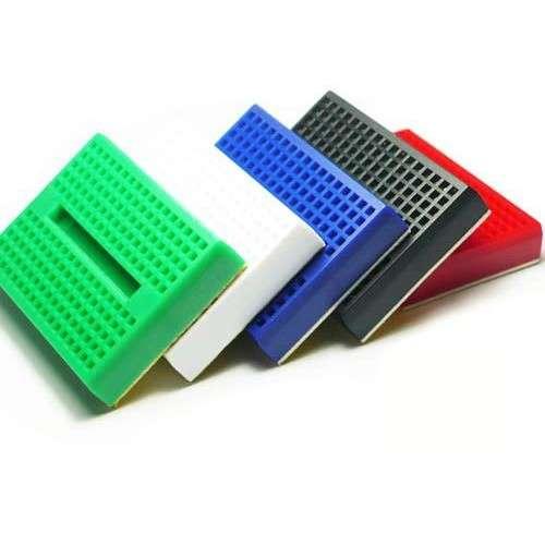mini breadboard de colores con 170 puntos SYB 170