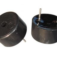 pl2087552 black pbt pin piezo electric buzzer 5v with self drive for household appliances