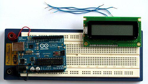 tutorial arduino LCD 16x2