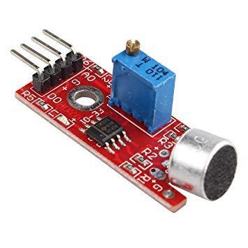 microfono Sensor analogo de sonido con microfono