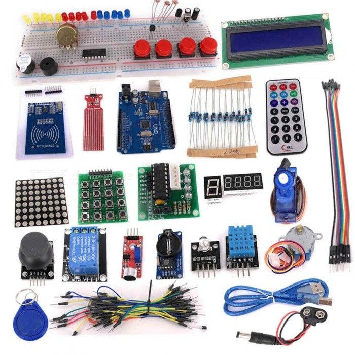 Kit Starter Xl Avanzado Kit Arduino Con Caja Y Libro Compra Con Envío Gratis