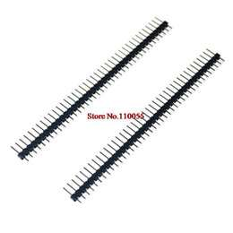 wholesale 10pcs 40 pin 1x40 single row male