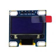 0 96 pulgadas IIC M dulo de pantalla blanca OLED 128X64 I2C SSD1315 12864 pantalla LCD 1