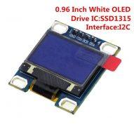0 96 pulgadas IIC M dulo de pantalla blanca OLED 128X64 I2C SSD1315 12864 pantalla LCD.jpg 640x640