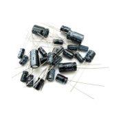 120 capacitores electroliticos 12 valores diferentes