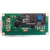 16x2 i2c lcd blackgreen 02