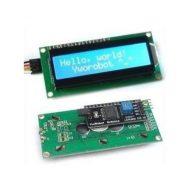 Pantalla LCD1602 con I2C incorporado