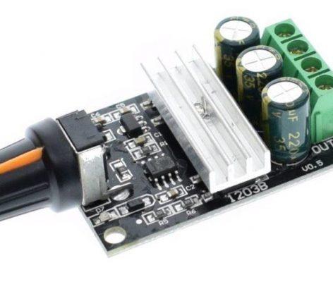 PWM Controlador PWM de velocidad para motor 6V 12V 24V 28V 3A