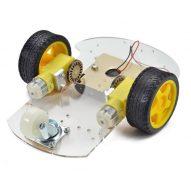 DIY 2 ruedas robot elegante chasis car kit para Arduino 2