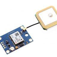 Módulo GPS Ublox NEO 6M v2 4