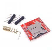 M s peque o SIM800L GPRS GSM m dulo micro de la tarjeta SIM cuatribanda TTL 1