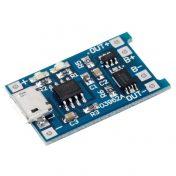 Modulo Cargador Batería de LiPo 1A Micro Usb 5V 2