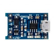 Modulo Cargador Batería de LiPo 1A Micro Usb 5V 3