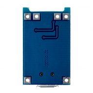 Modulo Cargador Batería de LiPo 1A Micro Usb 5V 4