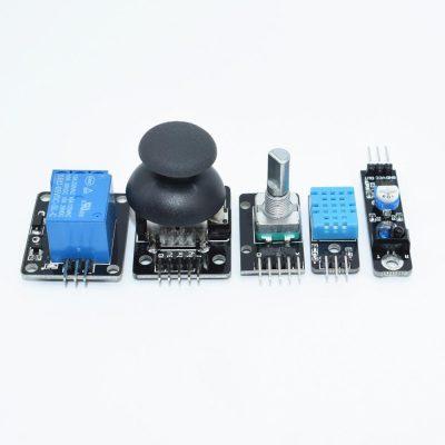 Nuevo sensor kit 37 en 1 Sensor Kit para arduino RRGB joystick fotosensible detecci n de 2