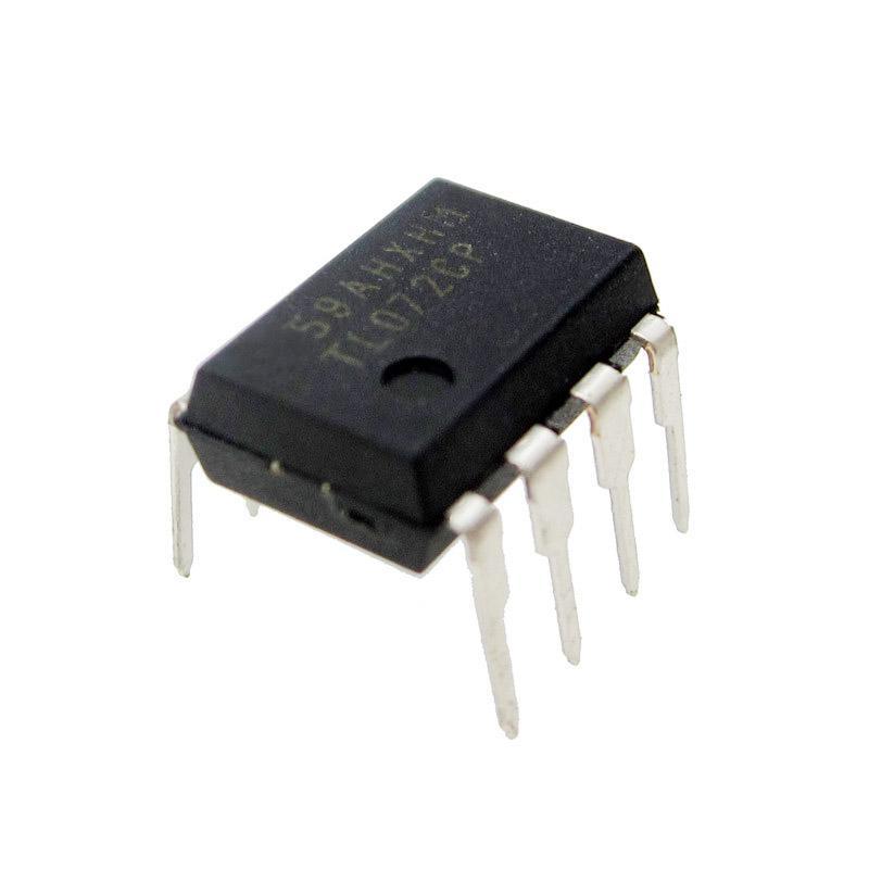 10 unids TL072CP DIP8 TL072 DIP TL072CN IC nuevo y original