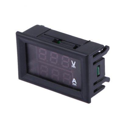 DC 0 100 V 0 10A volt metro amper metro LED amperio digital Volt voltaje tabla 1