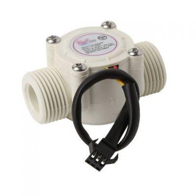 Sensor de flujo de agua MAR YF S201 caudal metro G1 2 1 30L min blanco.jpg 640x640