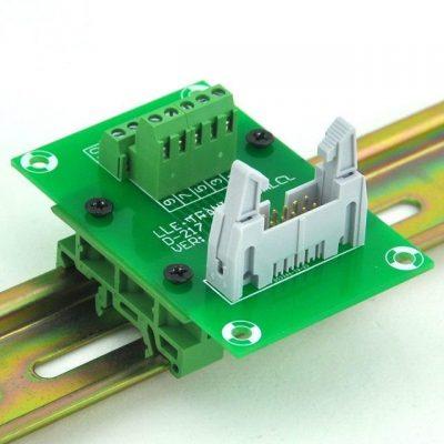 1pair DIN Rail Mounting feet PCB Support C45 35mm Screw Terminals Socket Base PCB carrier PCB.jpg 640x640q90