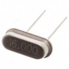 2x oscilador cristal 16mhz hc 49s 4x condensador ceramico 22pf 50v