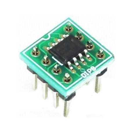 pcb adaptador smd so8sot23 dip8