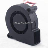 2-unids-gdstime-5015-12-V-doble-rodamiento-de-bolas-DC-Sopladores-ventilador-50mm-50mm-x-3