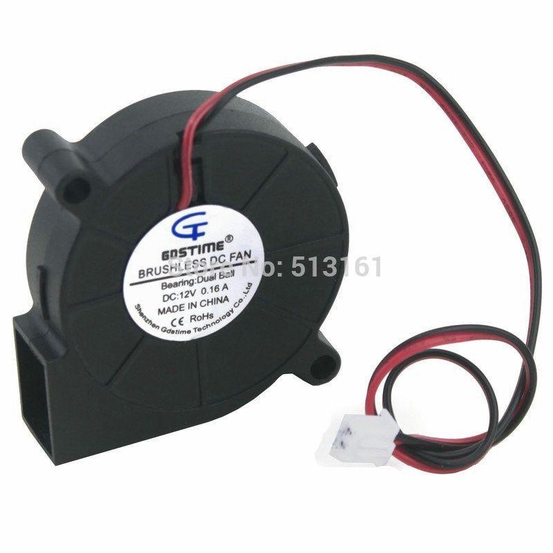 2-unids-gdstime-5015-12-V-doble-rodamiento-de-bolas-DC-Sopladores-ventilador-50mm-50mm-x