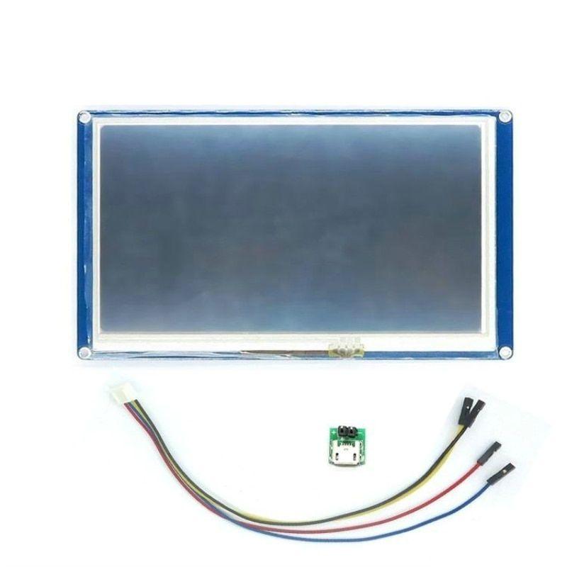 Nextion-7-0-pulgadas-HMI-pantalla-TFT-pantalla-inteligente-m-dulo-integrado-con-panel-t-ctil