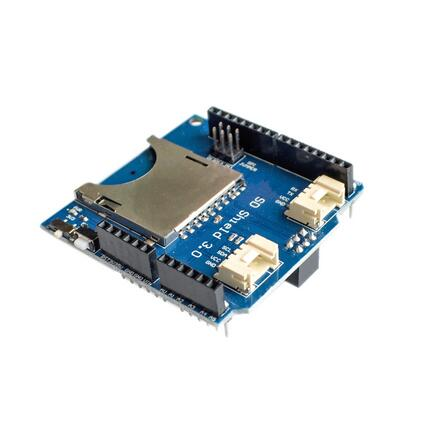 SD Shield datalogger microsd