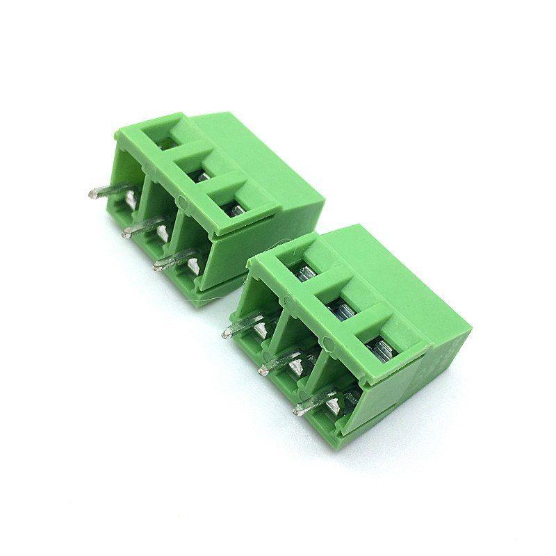 Env-o-Gratis-100-unids-lote-KF128-5-0-MM-3Pin-PCB-tornillo-Terminal-de-conexi