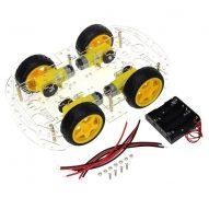 carro inteligente arduino Kit auto inteligente arduino 4 ruedas con codificador de velocidad