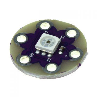 Placa WS2812 Led RGB Lilypad