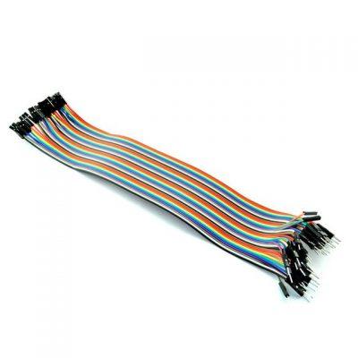 Dupont cables hembra macho para Arduino