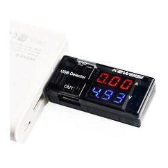 probador de corriente y voltaje USB Dual