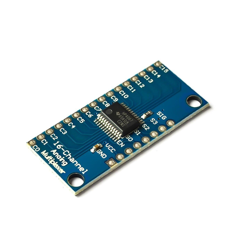 CD74HC4067 módulo multiplexor Digital de 16 Canales para