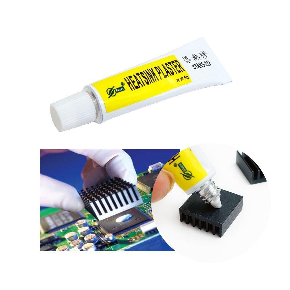 Pasta térmica conductiva para disipador térmico