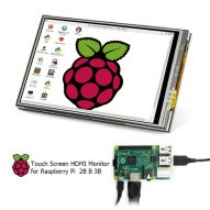 Pantalla lecrow 3,5 pulgadas pantalla táctil Raspberry Pi 3 480x320 TFT 3,5  3