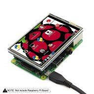 Pantalla lecrow 3,5 pulgadas pantalla táctil Raspberry Pi 3 480x320 TFT 3,5  2