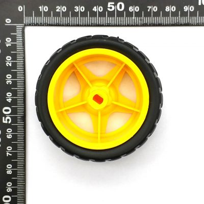1 par 2 uds ruedas de soporte chasis/neumático/ruedas de coche robot diámetro 65MM grosor 28MM DIY 4