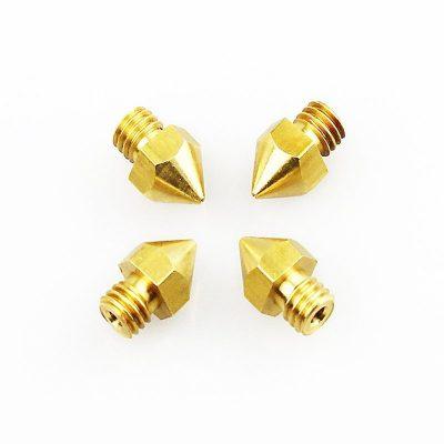 Extrusor Nozzle boquilla para impresoras 3D variedad de tamaño 3