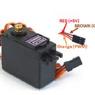 mg996 conexión