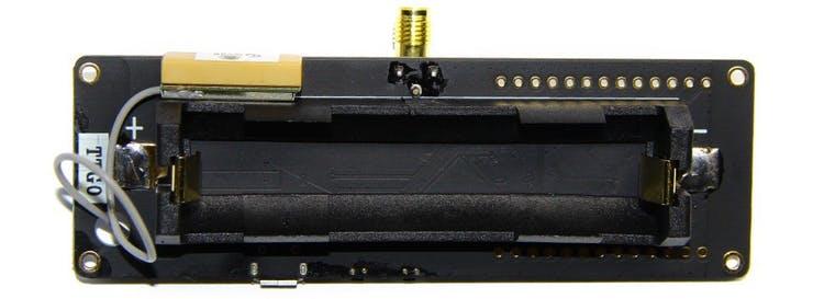 ttgo t beam lora32 soporte bateria