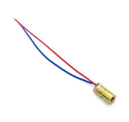 diodo semiconductor laser rojo