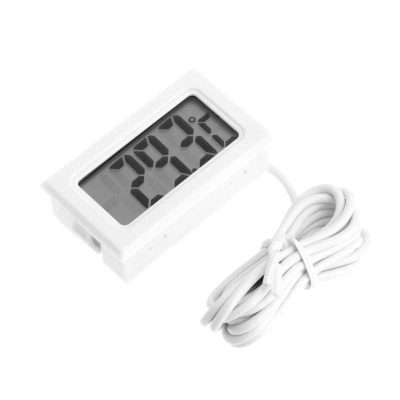 termometro digital blanco