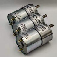 Motor con Reductor 12V 10Kg/cm 33-60-87 RPM