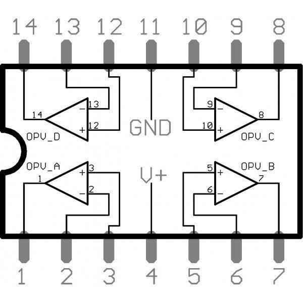 lm 324 amplificador operacional
