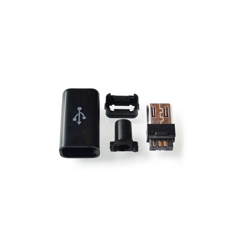 Conector Micro USB 5P Cabeza macho